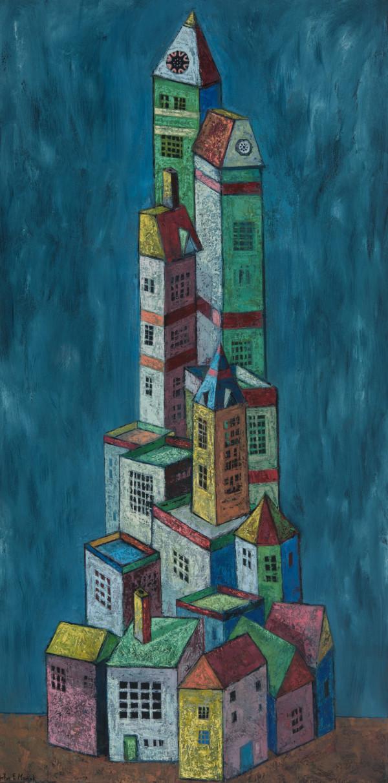 Tall & Taller Towers by John F. Marok
