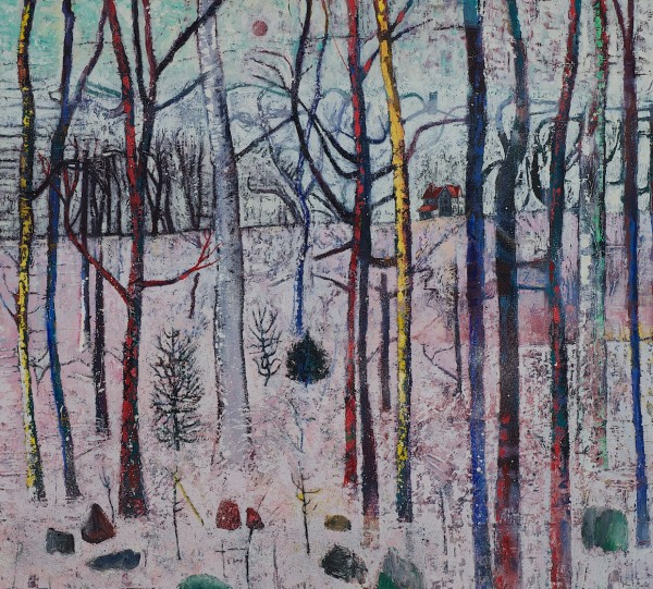 Winter Forest by John F. Marok
