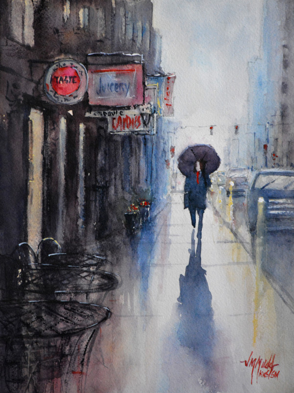 A Walk in the Rain by Judy Mudd