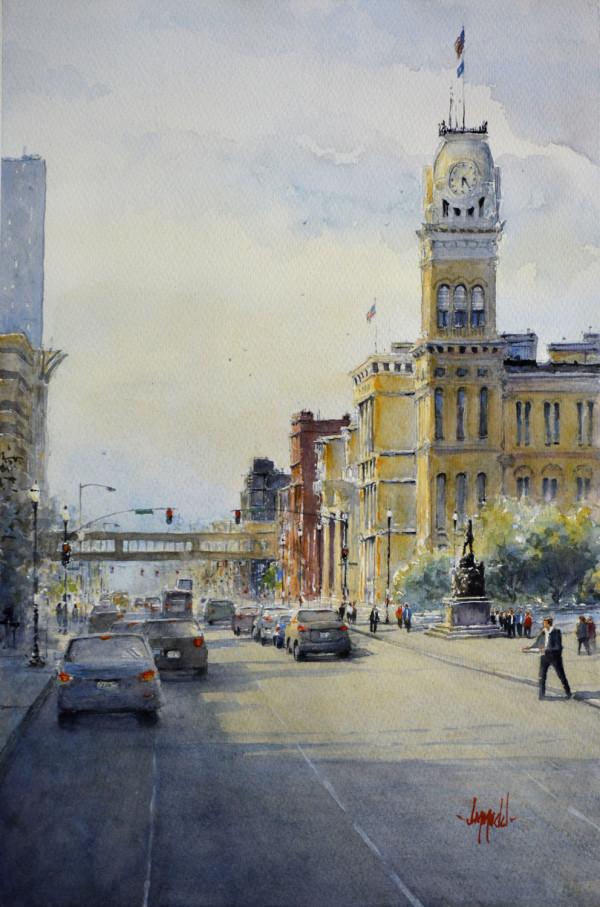 City Hall by Judy Mudd