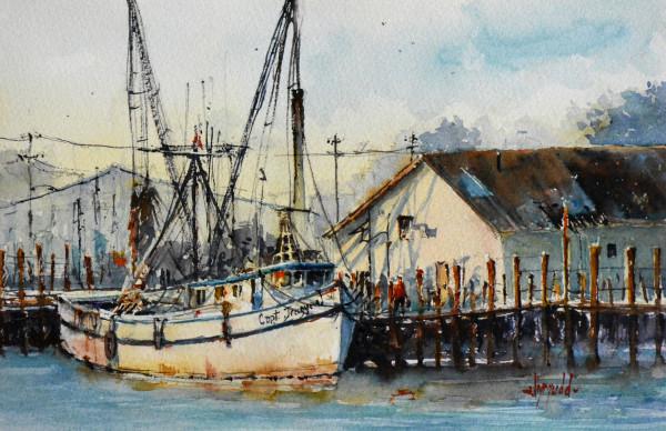 Shrimp Boat Fernandina by Judy Mudd