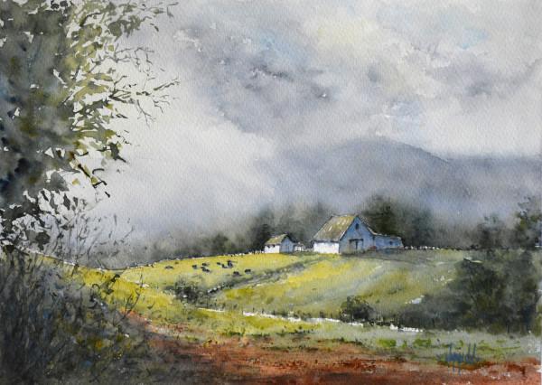 Smoke in the Hills 2 by Judy Mudd