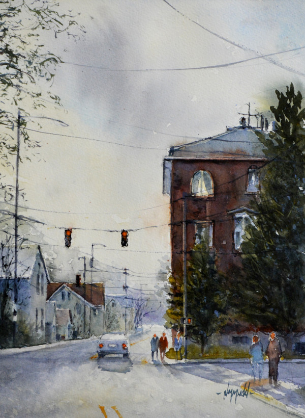 Spring Street (New Albany, IN) by Judy Mudd