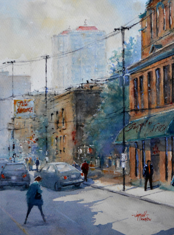 Summer in the City by Judy Mudd