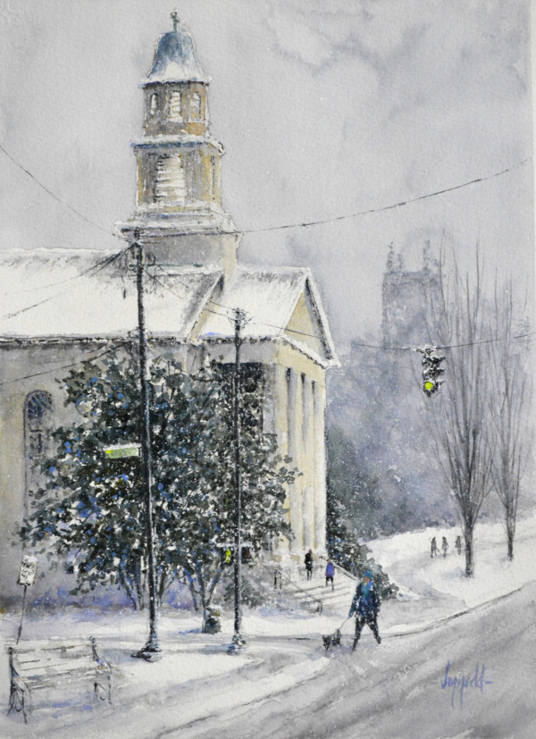 Winter in the City  by Judy Mudd