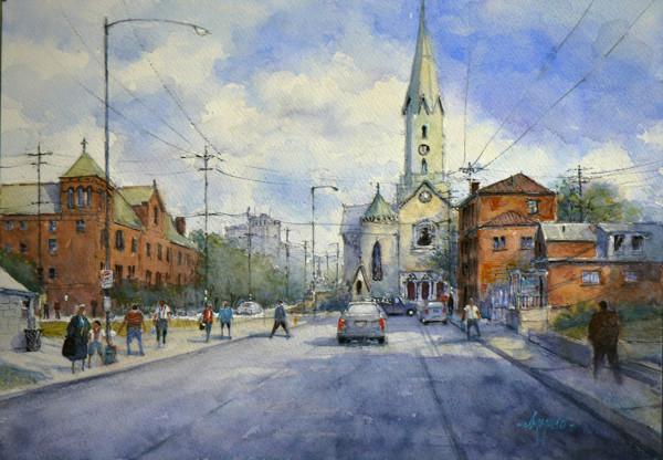 Commute at St. Martin by Judy Mudd