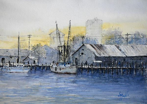 Marina Sunrise by Judy Mudd