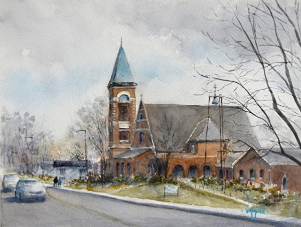 St. John's on Elm by Judy Mudd