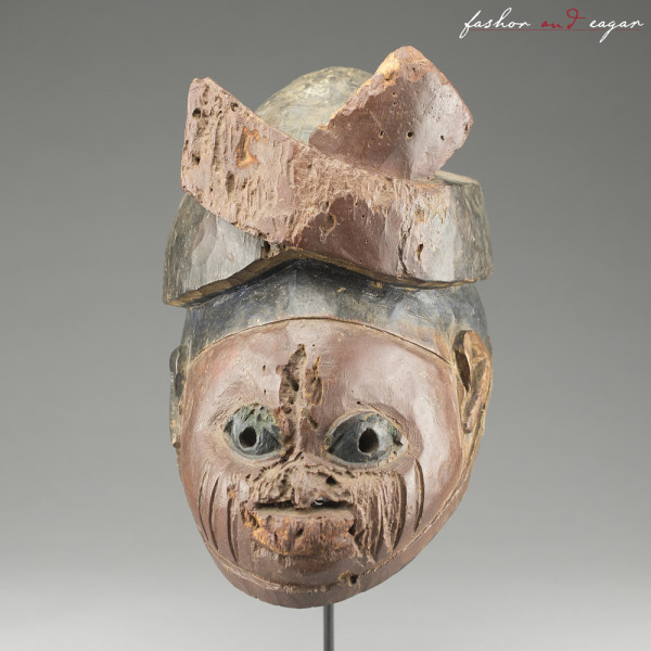 Yoruba (Anago Region) Gelede Mask by Yoruba