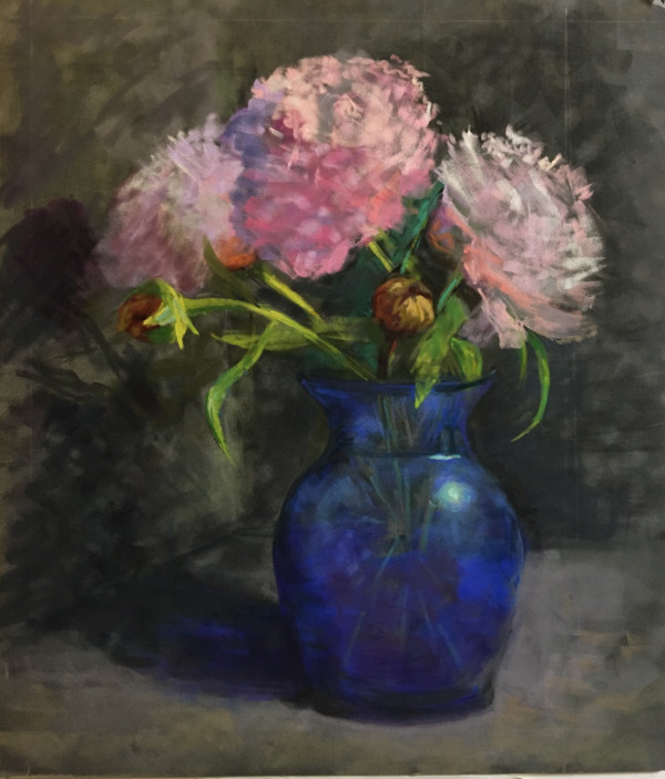 A Peony Saved by Karen Israel