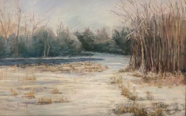winter's retreat by Karen Israel