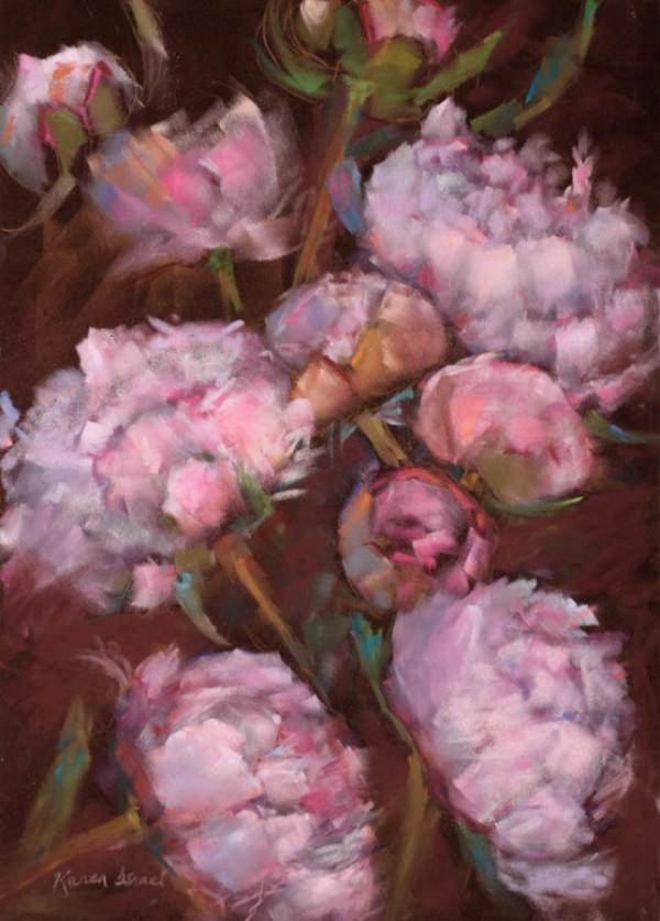 Peonies from Heaven by Karen Israel