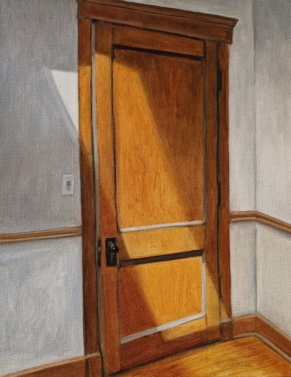 Light on a Door by Gwendolyn Zabicki