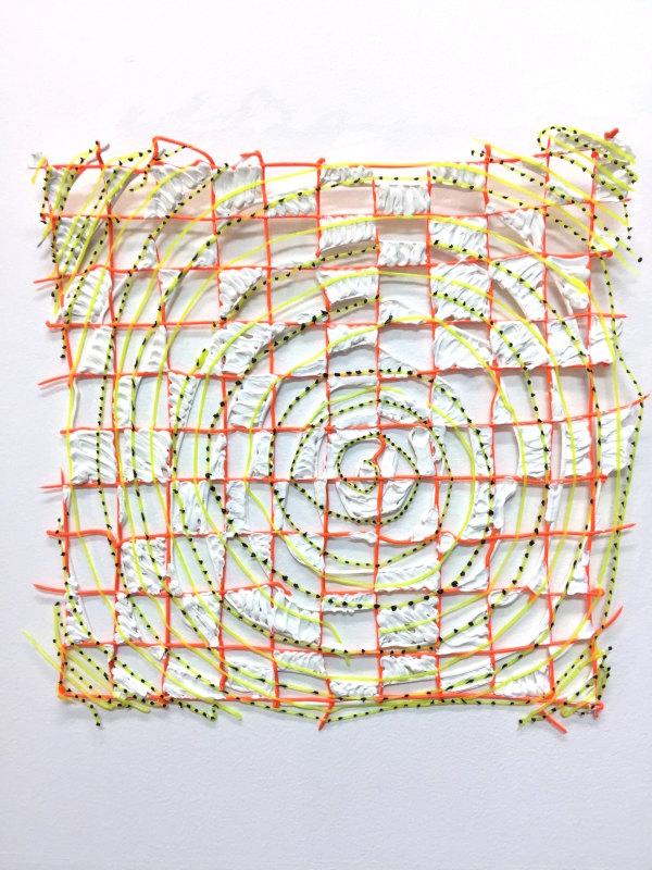 Swirl-Grid Swatch by Diana Gabriel