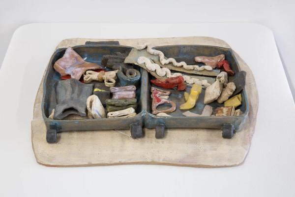A suitcase for LA by Minami Kobayashi