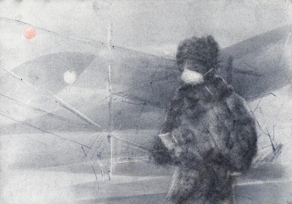 Breath of Air 5 by Monika Müller