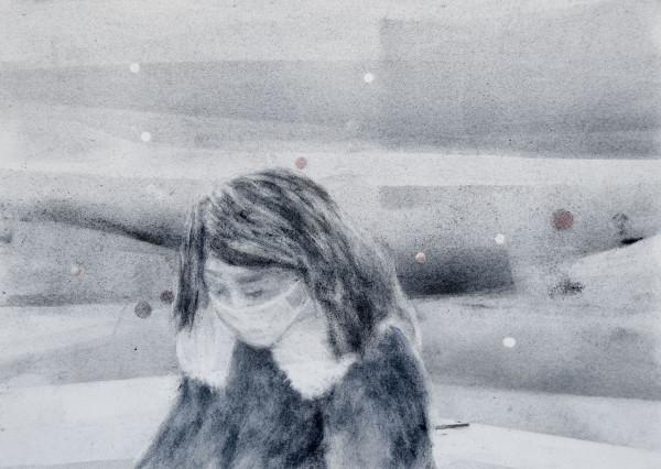 Breath of Air 9 by Monika Müller