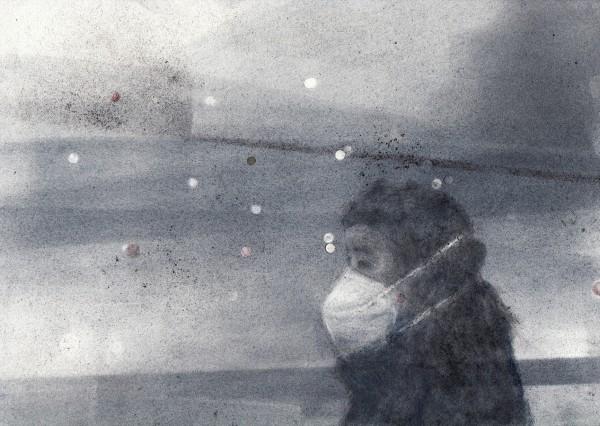 Breath of Air 7 by Monika Müller