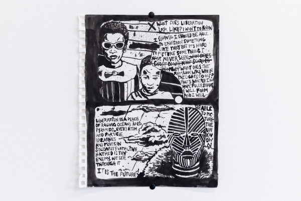 Liberation (pg. 1) by Damon Locks