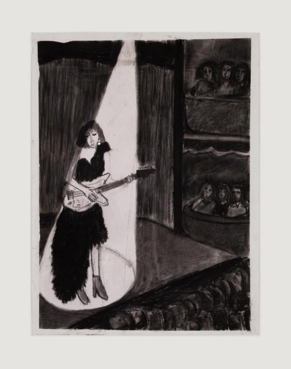 Girl with Guitar by Meghan Borah