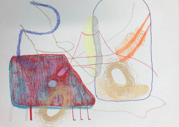 Schematic Drawings (#32) by Yesenia Bello