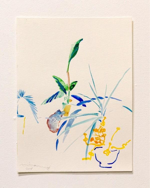 In a garden on Shakespeare Avenue ii by Minami Kobayashi