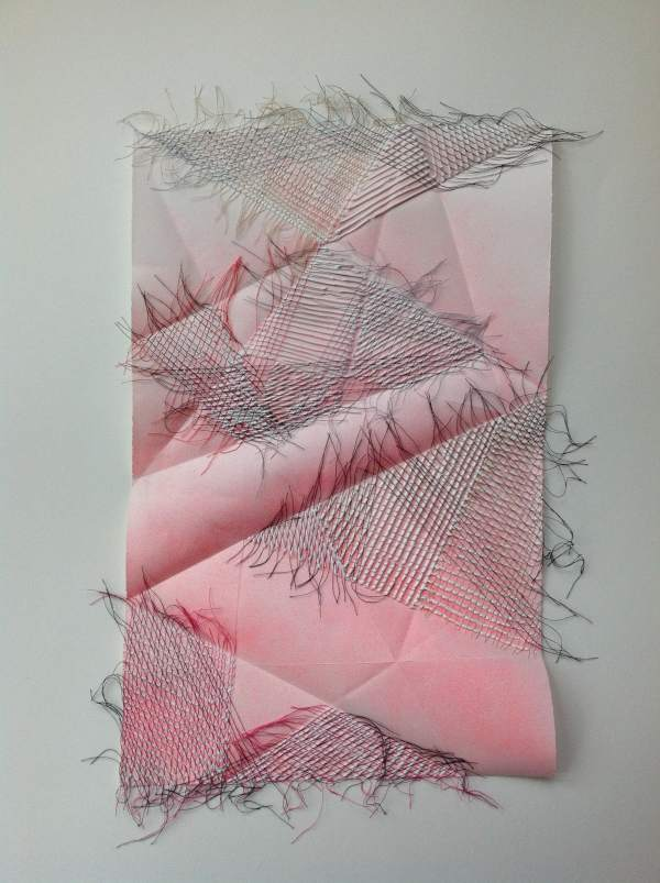 Magenta Weave by Diana Gabriel