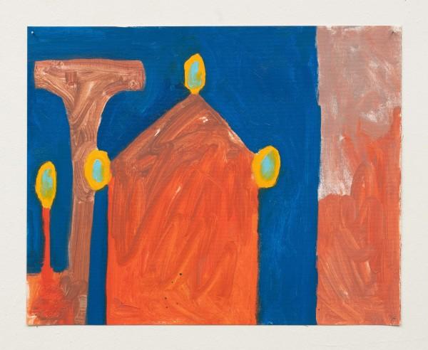 Orange Columns by Jasper Goodrich