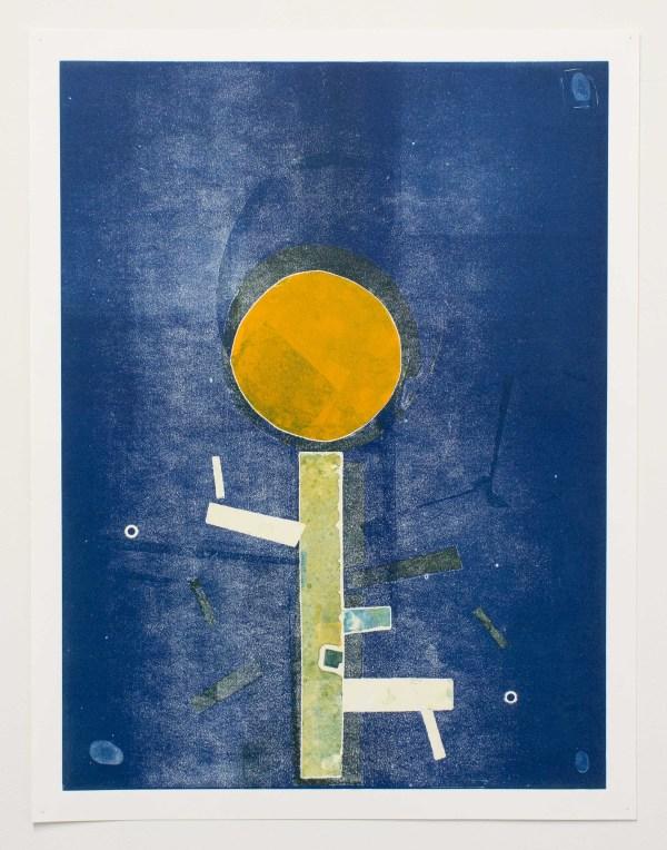 Tree People, Family Tree: Blue and  Orange by Jasper Goodrich