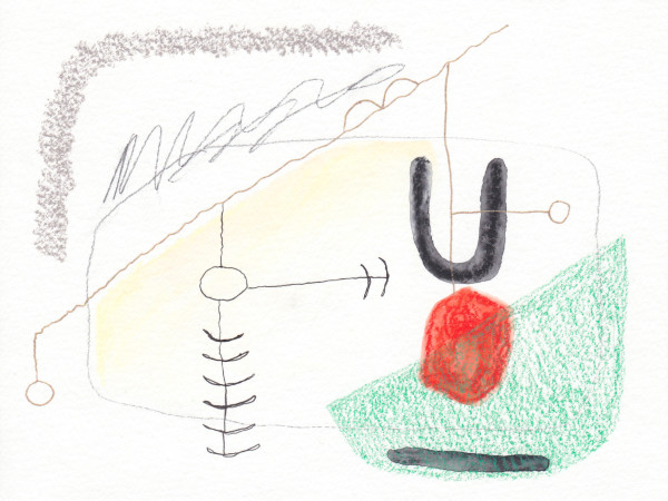 Schematic Drawings (#93) by Yesenia Bello