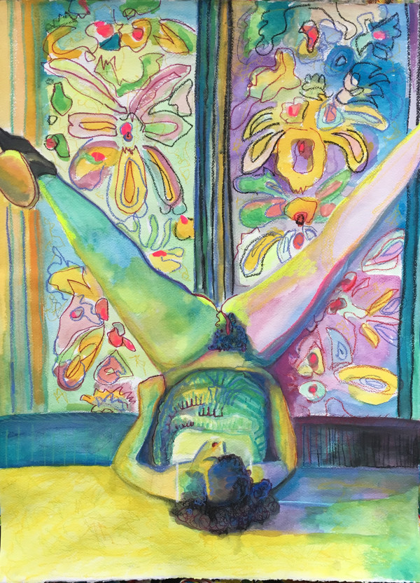 Sensualist 2 (legs up) by Amanda Joy Calobrisi