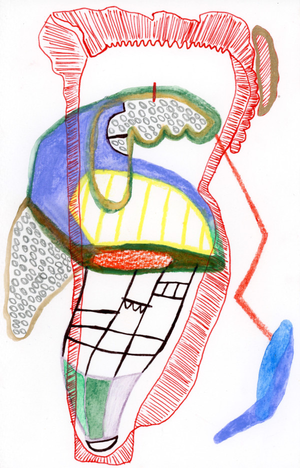 Schematic Drawings (#95) by Yesenia Bello