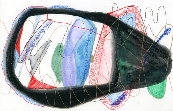 Schematic Drawings (#14) by Yesenia Bello