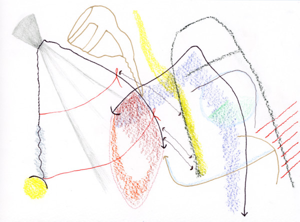 Schematic Drawings (#49) by Yesenia Bello
