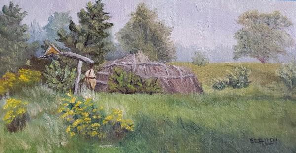 Longhouse by Sharon Allen
