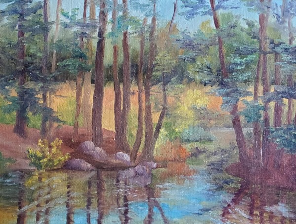 Where Otters Play by Sharon Allen