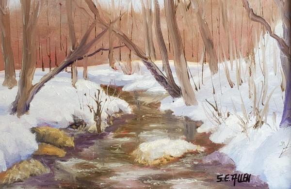 Spring Thaw Begun! by Sharon Allen