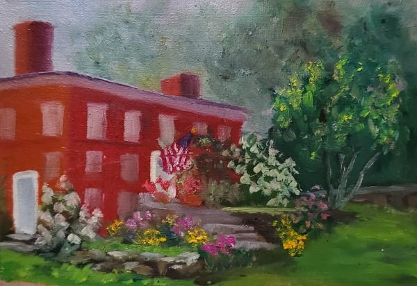 Spring in Harrisville by Sharon Allen