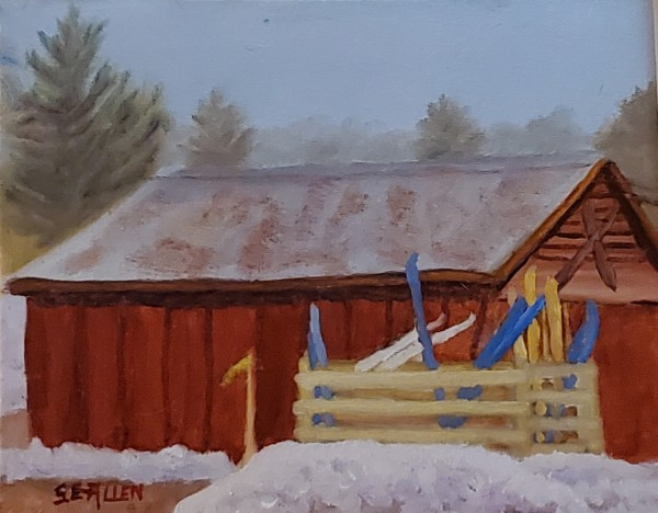 Bartlett Ski Barn by Sharon Allen