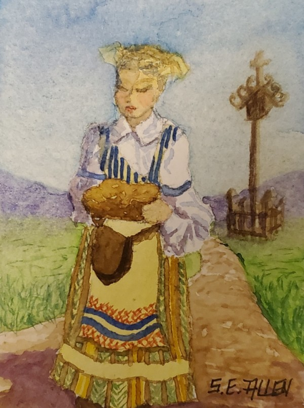 Pareiksti Duona (Bringing Bread) by Sharon Allen