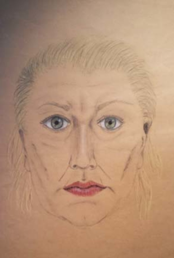 Self Portrait by Sharon Allen