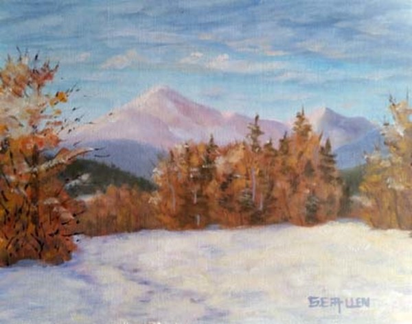 February at First Bridge by Sharon Allen