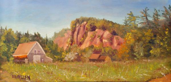 The Ledges in September by Sharon Allen