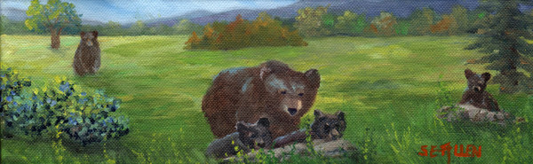 Family Outing by Sharon Allen