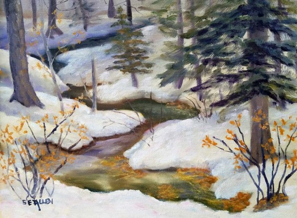 North Country Creek by Sharon Allen