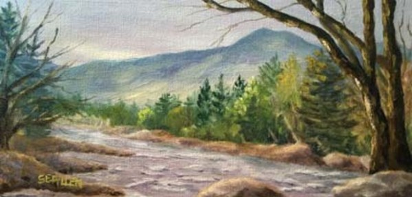 Late Afternoon on the Saco by Sharon Allen