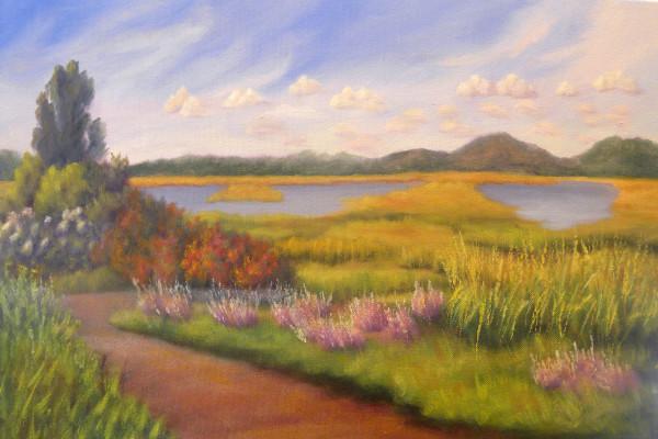 Early Fall, Plum IslNS by Sharon Allen
