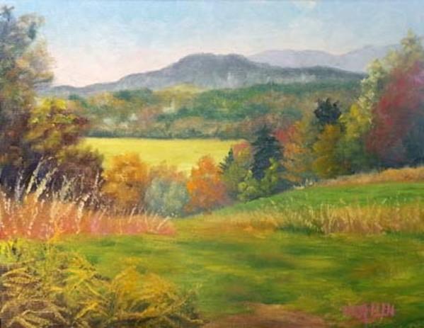 View from Phoenix Hill Farm by Sharon Allen