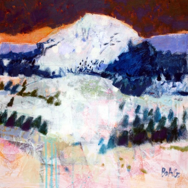 Winter, Angus hills by francis boag