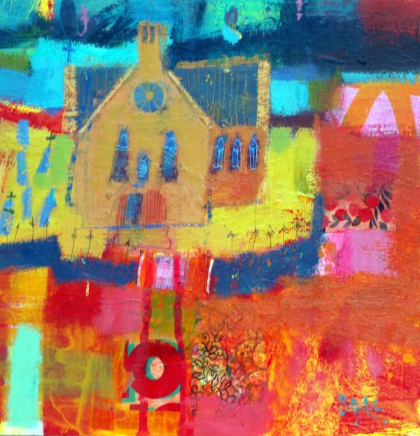 Angus Kirkyard by francis boag
